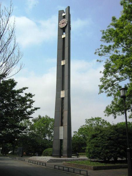 国会議事堂前公園の三権分立時計塔。05.06.14.
